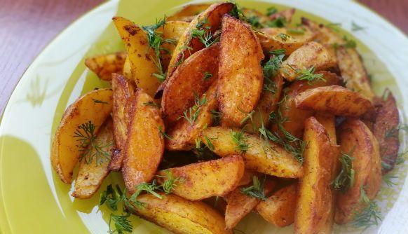 Картофель по-французски в духовке рецепт с рыбой